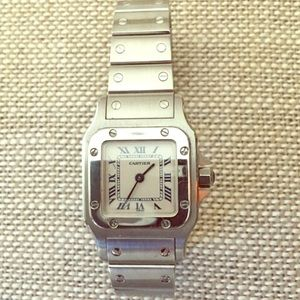 Cartier Accessories - ❤Cartier Santos small face women's watch-authentic