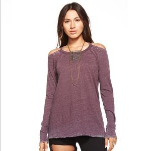 Chaser Tops - NWT Chaser Brand Long Sleeve Deconstructed Tee