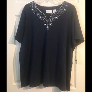 Alfred Dunner Tops - NWT Comfortable Alfred Dunner shirt!! 💙💙