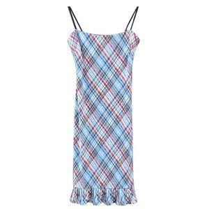 BCBGMAXAZRIA spaghetti strap dress