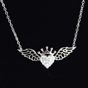 Cookie Lee Jewelry - ♦️SALE♦️Heart w/ Wings Necklace