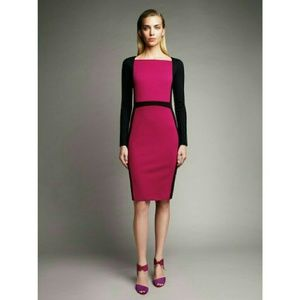 Narciso Rodriguez Dresses & Skirts - New! Narciso Rodriguez Colorblock Sheath Dress NWT