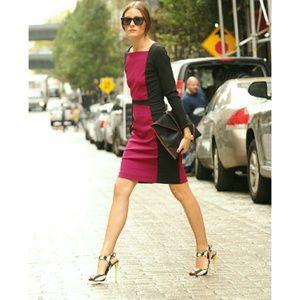 Narciso Rodriguez Dresses - New! Narciso Rodriguez Colorblock Sheath Dress NWT