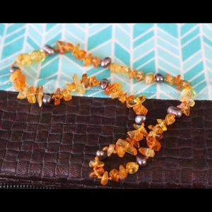 Jewelry - Children's Amber Teething Necklace