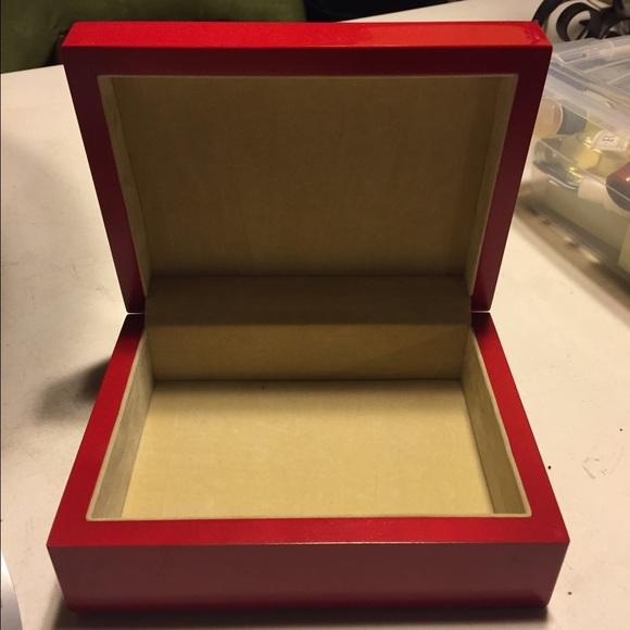 Tizo Jewelry Red Lacquer Box Poshmark