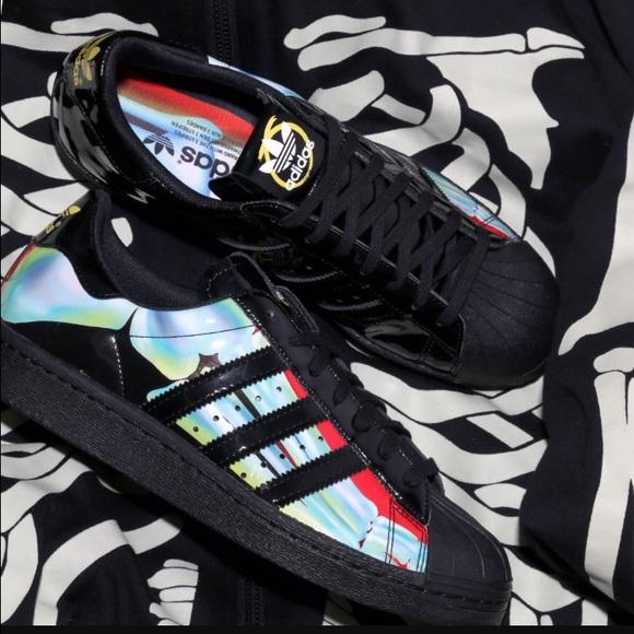 best website 62aa2 77f97 Adidas Shoes - Rita Ora Adidas Skeleton X Ray Superstar sneaker