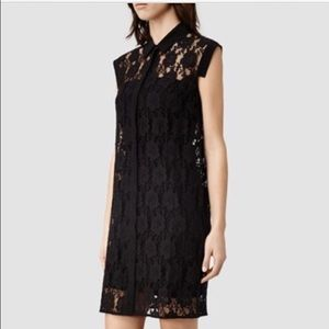 NY SALEALL SAINTS lace over dress
