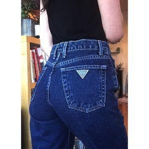 ❄️Vintage Dark Wash Guess Jeans 27❄️