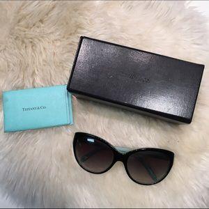 Tiffany & Co Havana Cateye Sunglasses