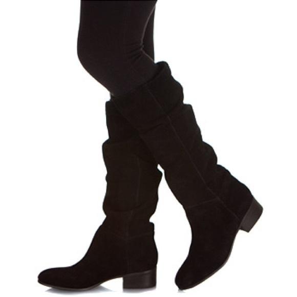 6a4b1dafb0a STEVE MADDEN Ponderosa Black Suede Boot. M 582b217e8f0fc4c66302d452