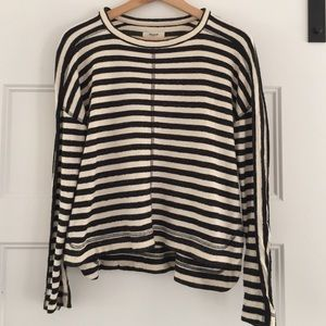 Madewell striped top!