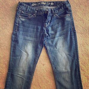 Express Denim - Express Barel Stella Low Rise Jeans