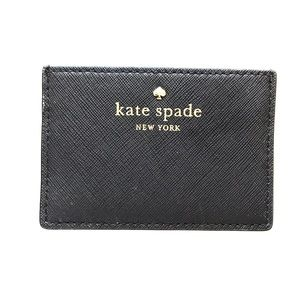 kate spade black card cedar street holder -- NEW