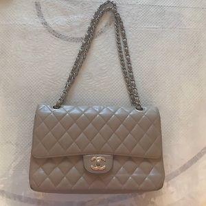Nude Chanel Lambskin Bag