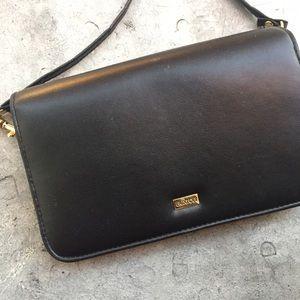 Buxton Handbags - Buxton Black Pocketbook Bag