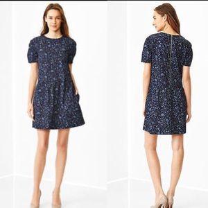 GAP Dresses & Skirts - ❤ Gap Drop Waist Dress Indigo Blue Floral