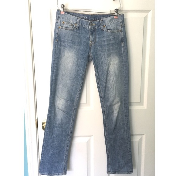 J. Crew Jeans - J. Crew Matchstick Jean Cloud-Nine Wash 26S Faded