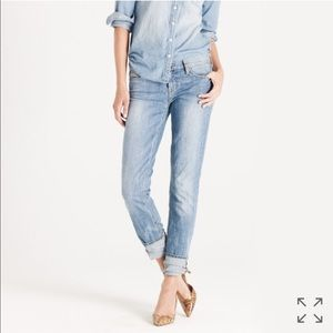 J. Crew Matchstick Jean Cloud-Nine Wash 26S Faded