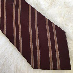 Ermenegildo Zegna Other - Ermenegildo Zegna Stripped Silk Tie