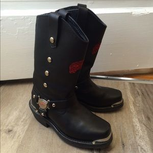 Red Wing Shoes Shoes - Red Wing motorcycle biker boots 6