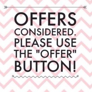 Other - Reasonable offers considered use offer button