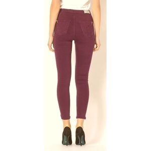 Vintage Elements High Waisted Maroon Jeans 14M