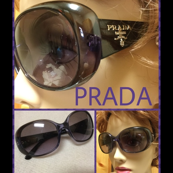 1396f112bdd Authentic PRADA Milano Black Sunglasses with Case.  M 582b564678b31cc372008580. Other Accessories ...