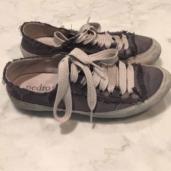 Pedro Garcia Satin Sneakers Size 9m