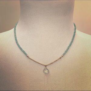 Jewelry - Aquamarine necklace Gorgeous
