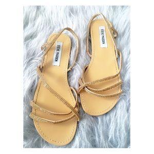 Steve Madden Shoes - STEVE MADDEN Crystal Stoned Sandals