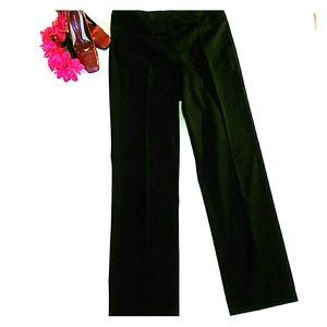 Tahari Woman Pants - Tahari paisley print black dress slack