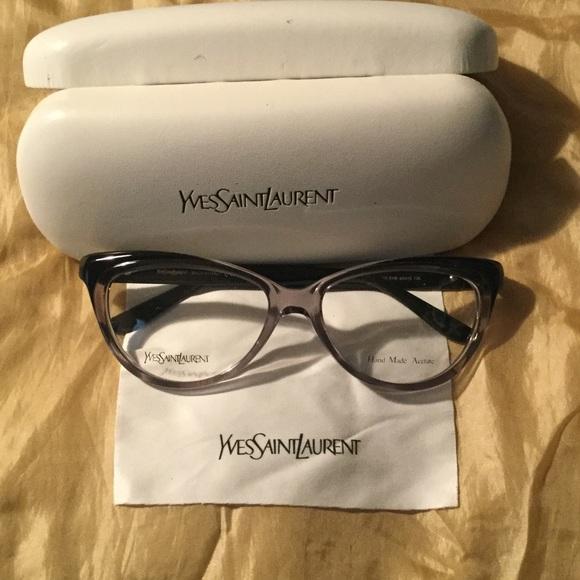 6359a415ad25 Yves Saint Laurent cat eye glasses. M_582b5f466a5830f24b009f49