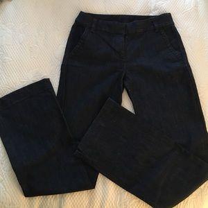 JCrew denim trousers