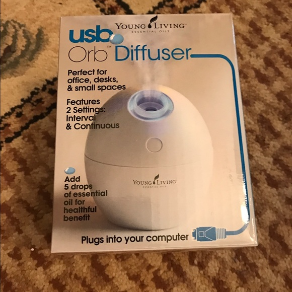 NWT Young Living USB Orb Diffuser