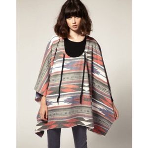 One Teaspoon Faded Navajo Style Poncho