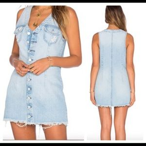 Tularosa Dresses & Skirts - TULAROSA NWT Zoe denim dress in Miami size SM