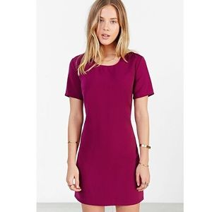 Kimchi Blue Dresses - Kimchi Blue purple shift dress