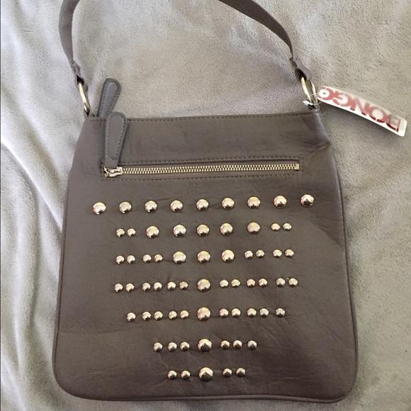 312d7658694c NWT Bongo crossbody bag with stud detailing