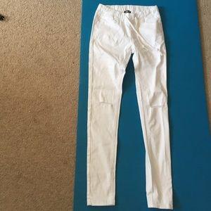 Fashion Nova drawstring jeans