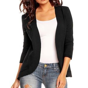 Jackets & Blazers - Sweater-like blazer. Soft and comfortable.