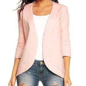 Jackets & Blazers - Blush blazer
