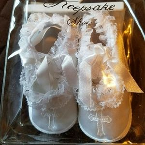 Sears Other - NWT -Baby Baptismal shoes