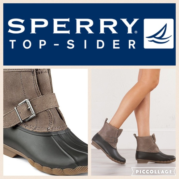 ba5cb0a27dd6 Sperry Shoes - ❄️Sperry Rip Water Duck Boot Graphite 10
