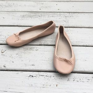 { Topshop } ballet slipper flats