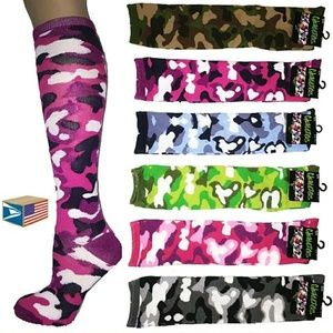 Accessories - Knee Highs Cammo Socks