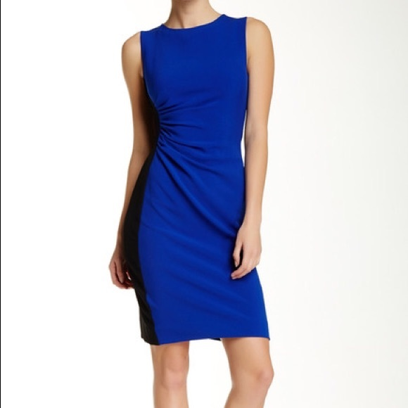 ruched waist dress - Blue Diane Von F mJbTiSZ