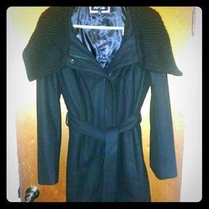 Apt 9 Black Dress Coat