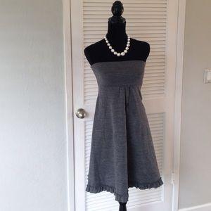 Gorgeous J. Crew wool dress with ruffle trim