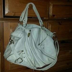 Bag bigger size w/ cross body strap never worn