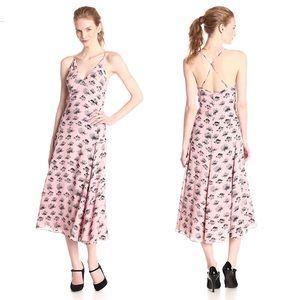 ❥ Rebecca Minkoff Falcon Graphic Flower Maxi Dress